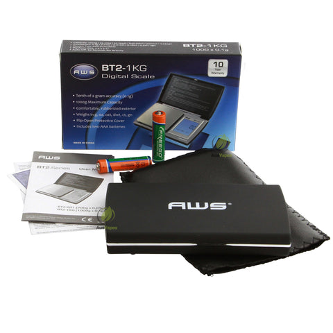 AWS BT2-1KG Touch Screen Digital Scales 1000g x 0.1g
