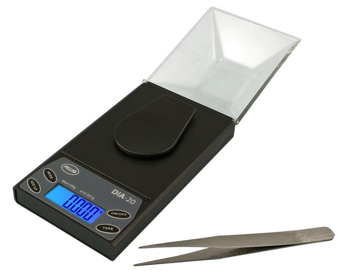 DISCONTINUED AWS DIA-20 Diamond Digital Scale with Case 20g x 0.001g