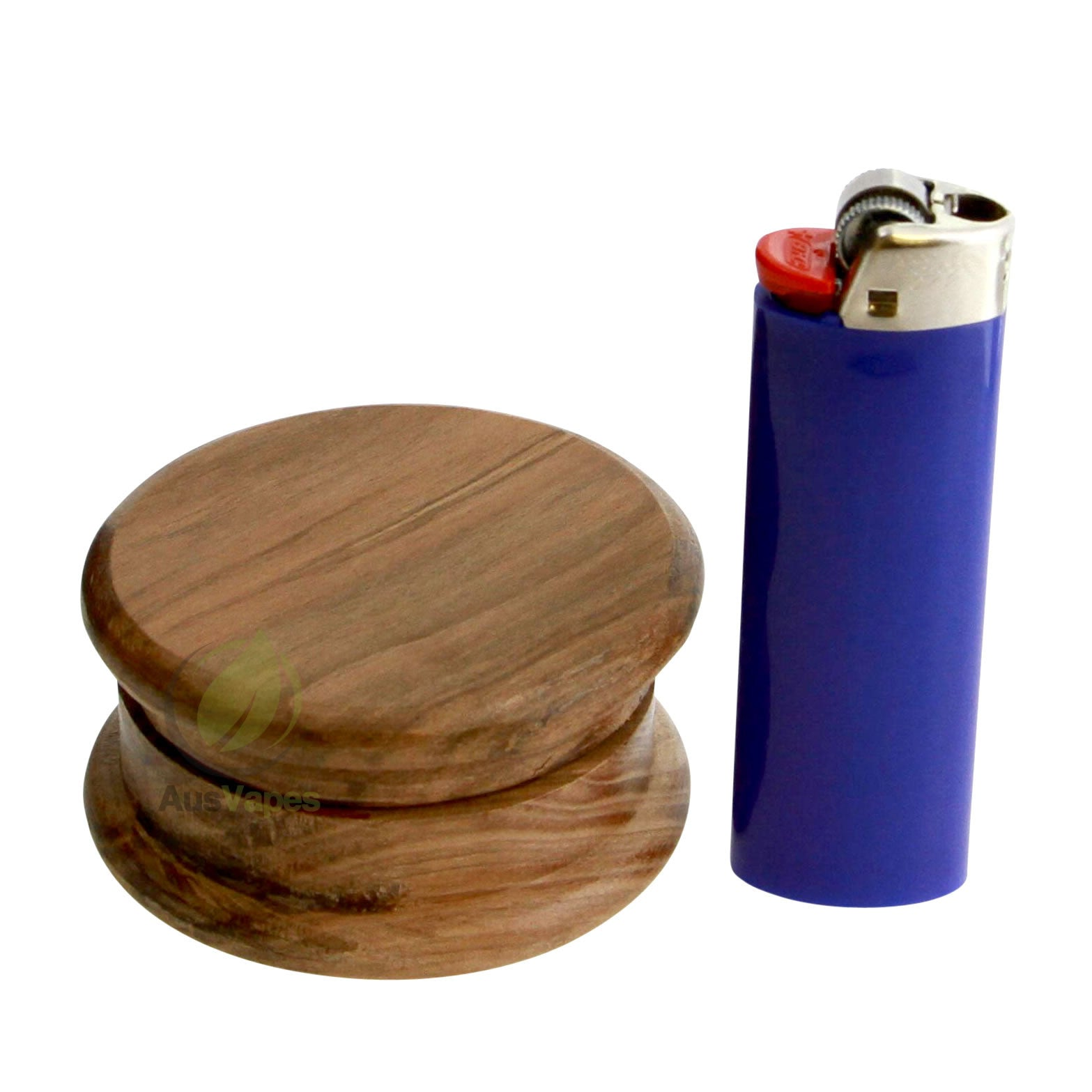 DISCONTINUED 64mm 2pc Natural Wood Grinder