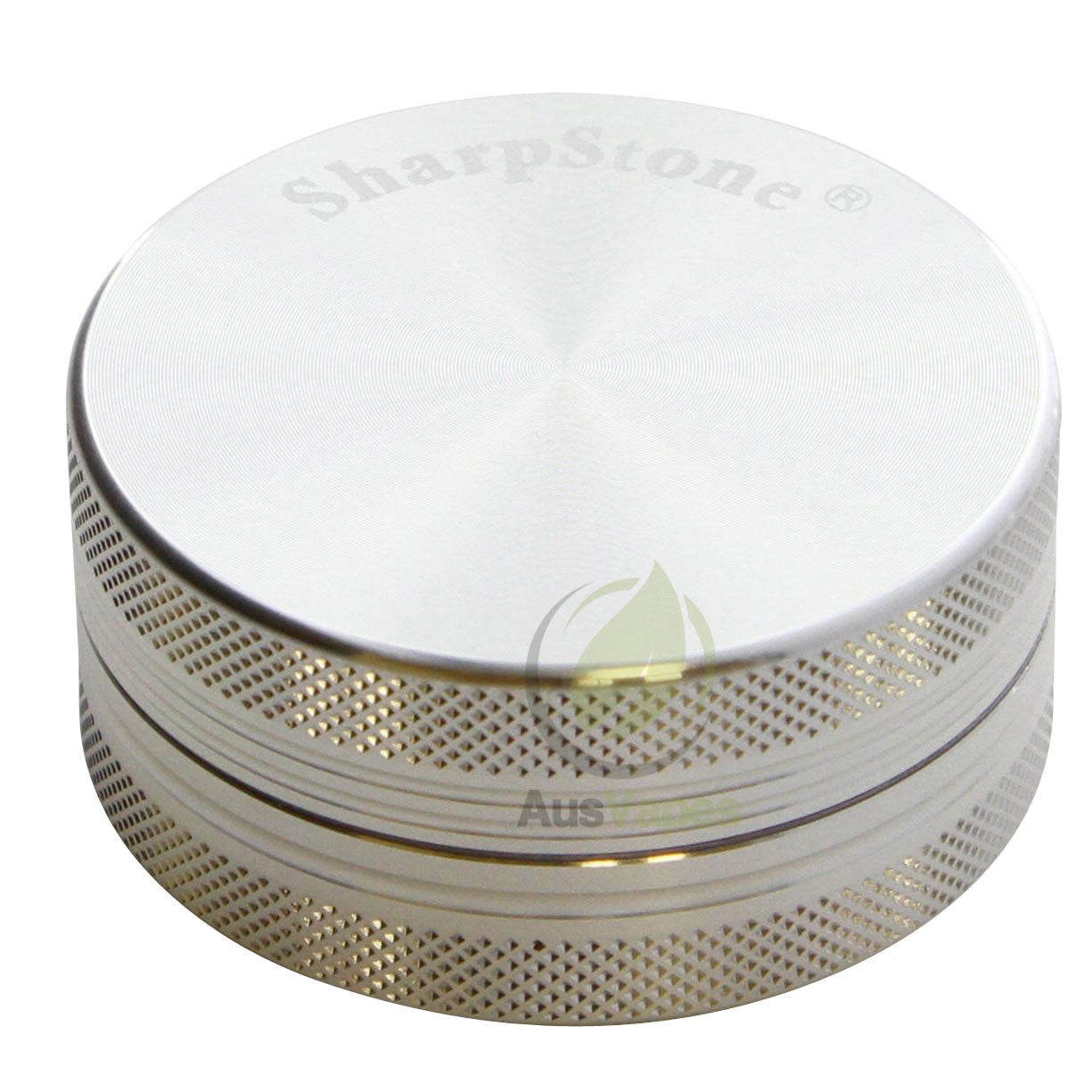 DISCONTINUED Sharpstone 56mm 2pc Solid Top Grinder - Silver