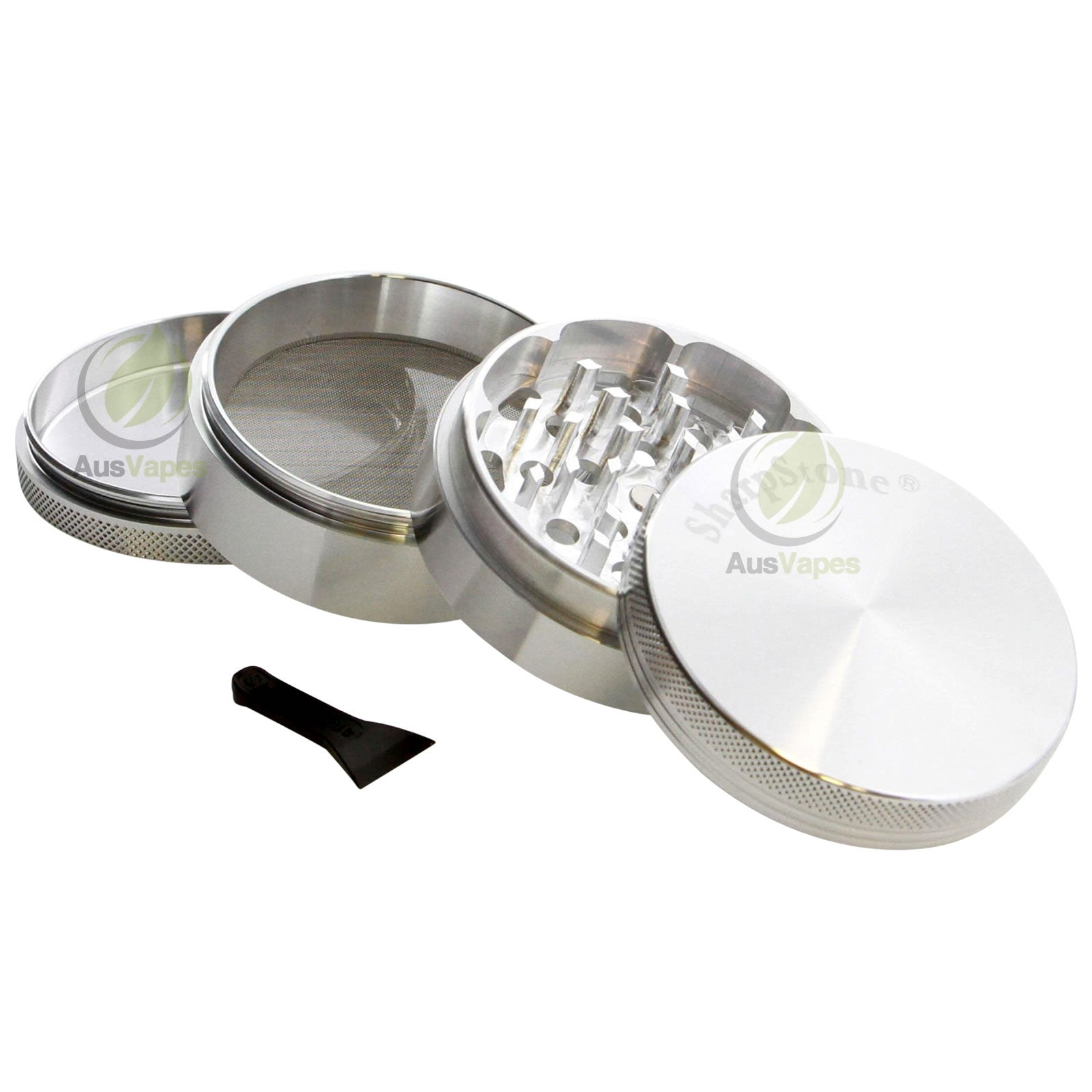 DISCONTINUED Sharpstone 64mm 4pc Solid Top Grinder