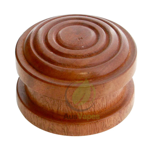 57mm 2pc Carved Rosewood Grinder