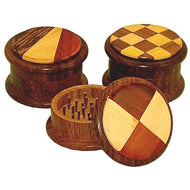51mm 2pc Wood Grinder - Assorted Designs