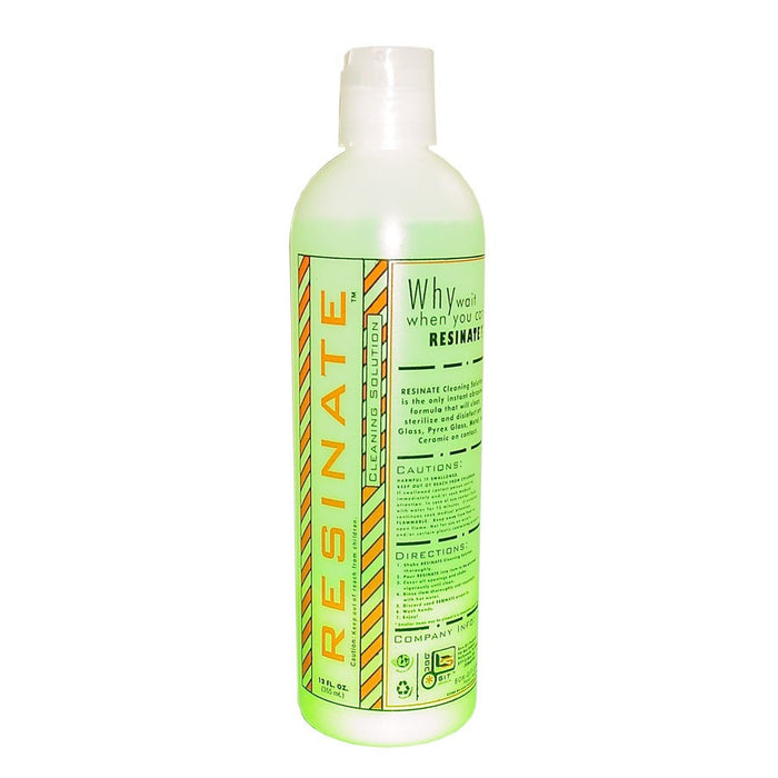 DISCONTINUED Resinate Cleaning Solution (12oz)