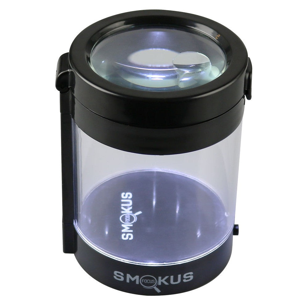 DISCONTINUED Smokus Focus LED Magnifying Stash Jar