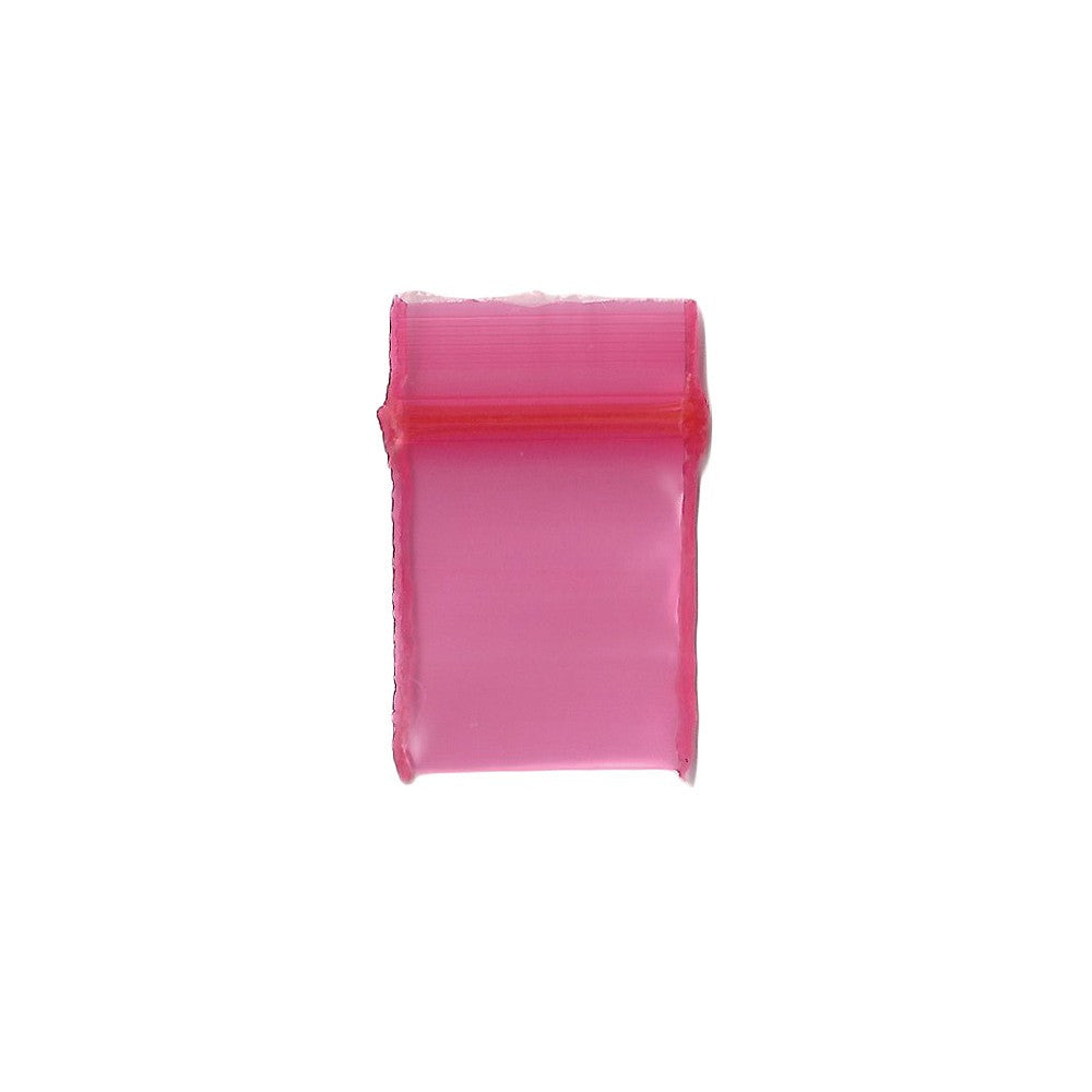 12mm x 12mm Apple Bags - Red - 100 Pack