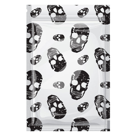 Stink Sack Smell Proof Storage Bags - Skull Print