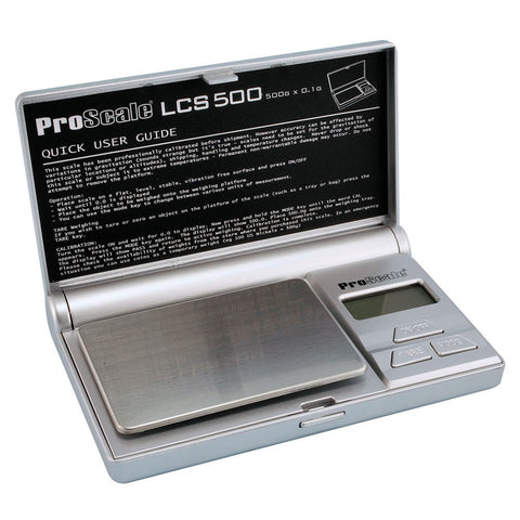 ProScale LCS-500 Digital Pocket Scale - 500g x 0.1g