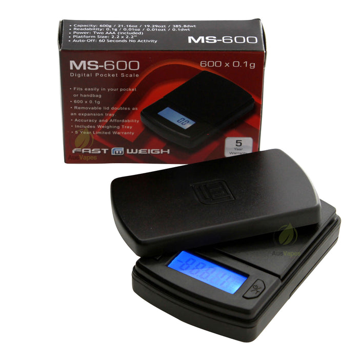 DISCONTINUED Fast Weigh MS-600 Economical Digital Scale 600g x 0.1g