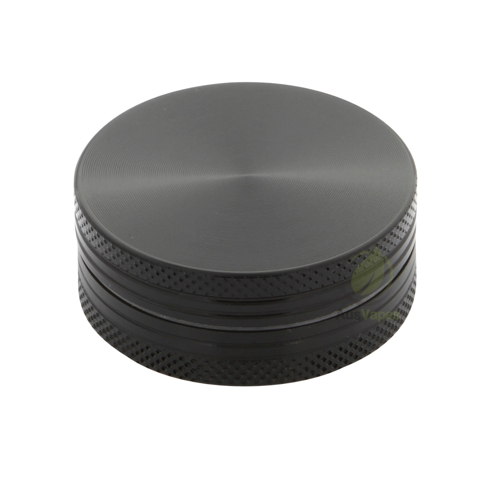 Pocket Size Black Aluminium Grinder 40mm - 2 pc.