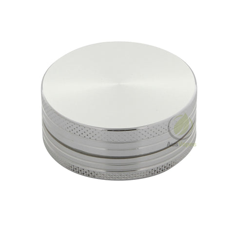 Pocket Size Silver Aluminium Grinder 40mm - 2 pc.