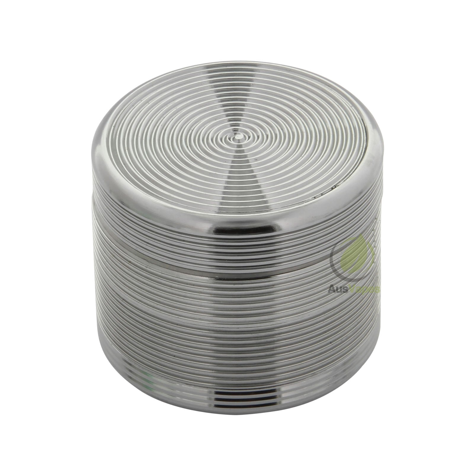 Grey Ripple Aluminium Grinder 40mm - 4 pc.