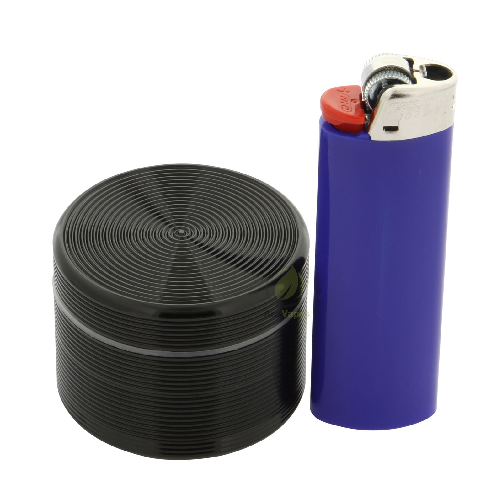 Black Ripple Aluminium Grinder 50mm - 4 pc.