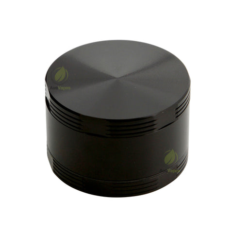 Black Aluminium Cross Grinder 50mm - 3.5 pcs