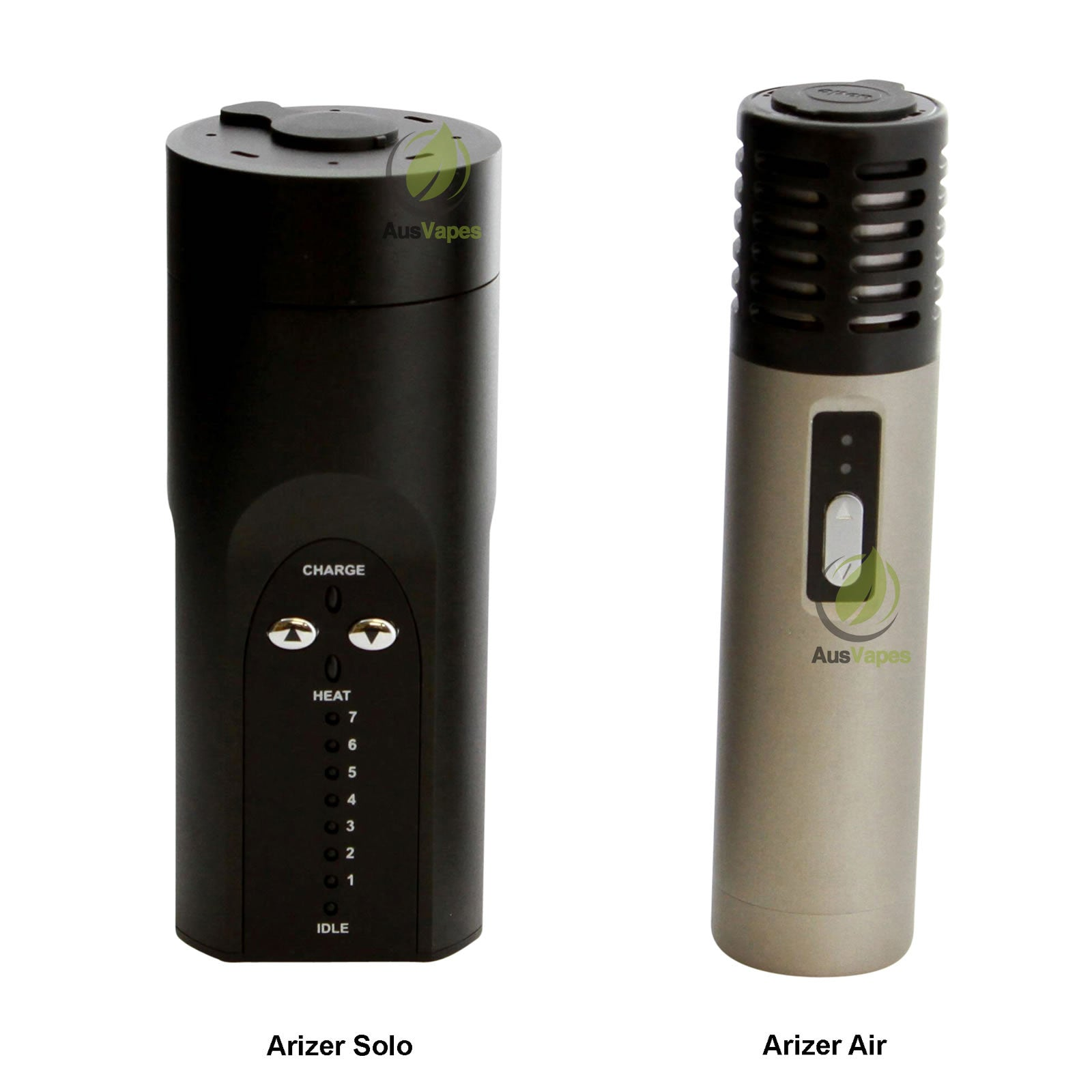 arizer air and arizer solo side by side