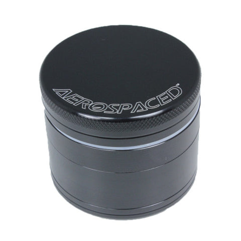 Aerospaced Black Aluminium Grinder 75mm - 4pc.