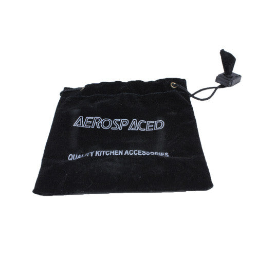 DISCONTINUED Aerospaced Black Aluminium Grinder 40mm - 2pc.