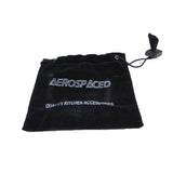 Aerospaced Black Aluminium Grinder 75mm - 2pc.