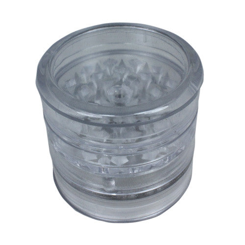 DISCONTINUED Aerospaced Clear Acrylic Grinder 58mm - 5pc.