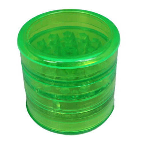 DISCONTINUED Aerospaced Green Acrylic Grinder 58mm - 5pc.