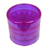 Aerospaced Purple Acrylic Grinder 58mm - 5pc.