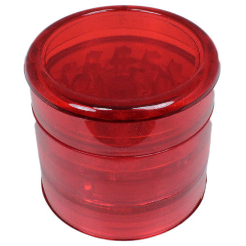Aerospaced Red Acrylic Grinder 58mm - 5pc.