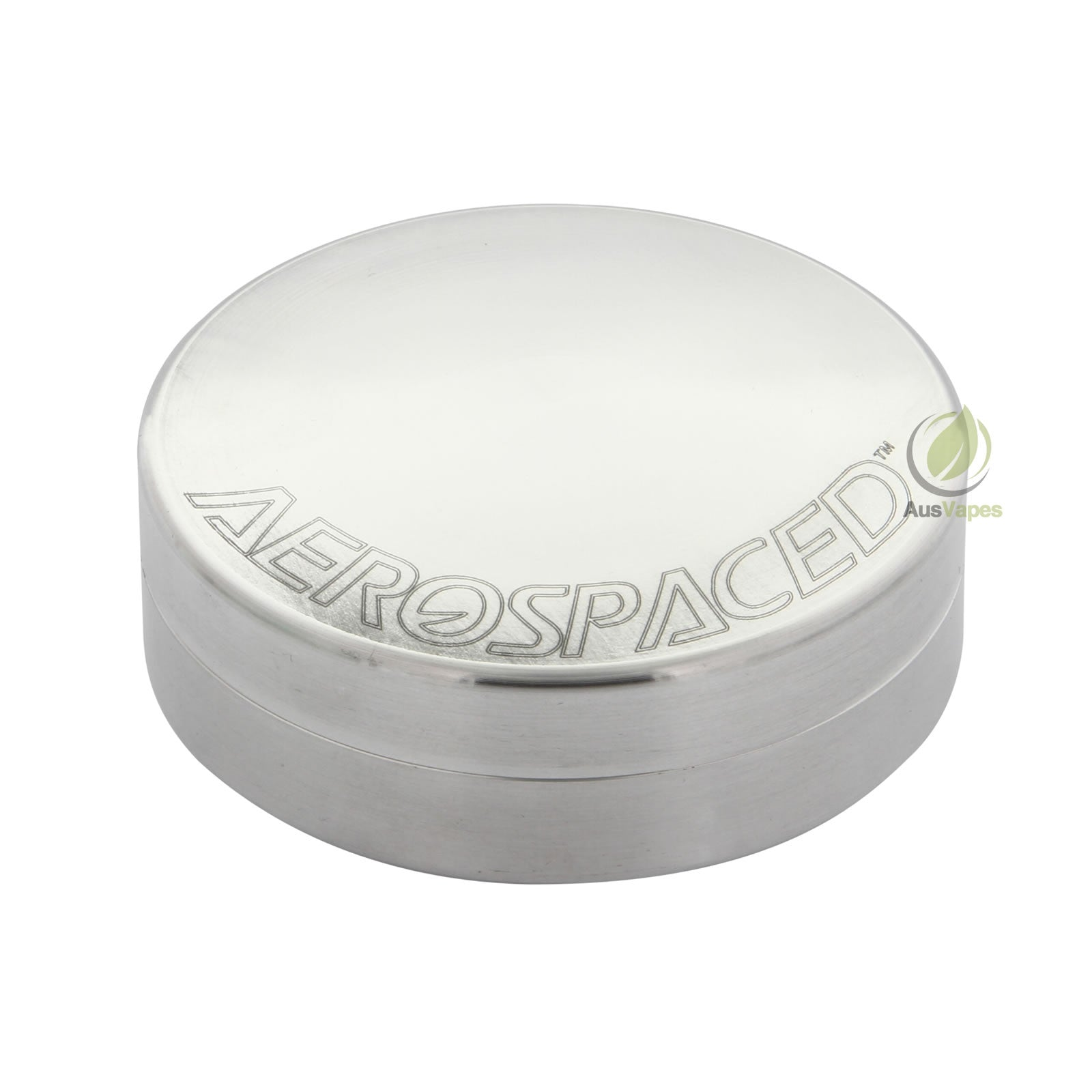 DISCONTINUED Aerospaced Medium Aluminium Stash Case 63mm -  Disc Shaped