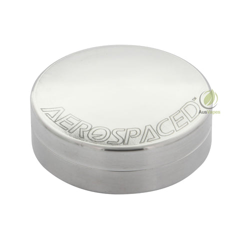 Aerospaced Medium Aluminium Stash Case 63mm -  Disc Shaped