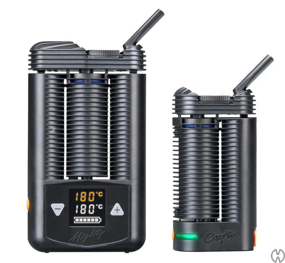 Crafty Vaporizer compared to Mighty vaporizer