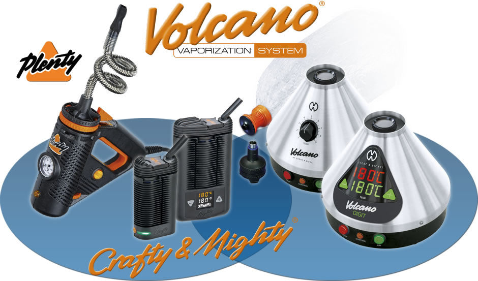 volcano vaporizers by storz and bickel