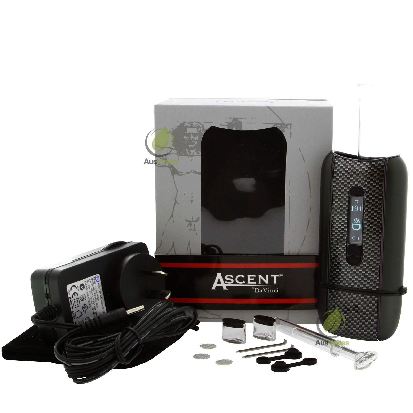 davinci ascent vaporizer full kit