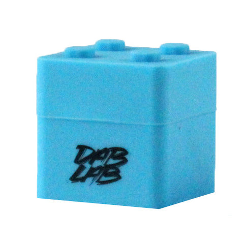 Dab Lab Silicone Stacking Cube - Blue