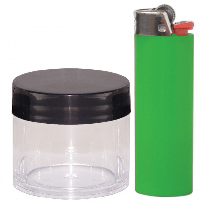 DISCONTINUED Cannaline Concentrate Jar - Black Lid - 30ml