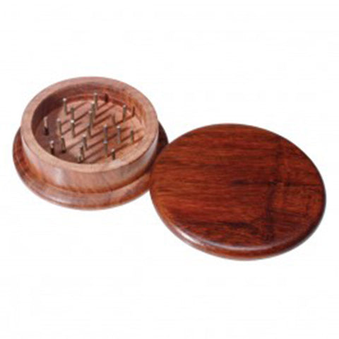 64mm Wooden Grinder - 2pc