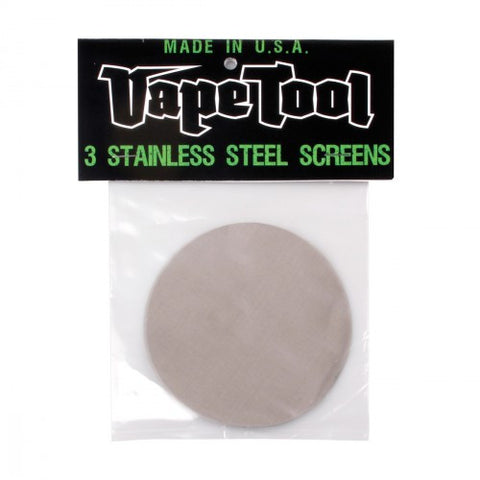 VapeTool 102mm Replacement Screens (3 Pack)