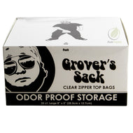 Grover's Sack Odor Proof Storage - Clear Small