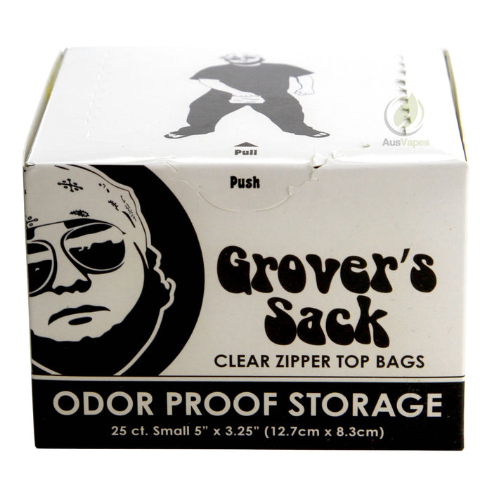 DISCONTINUED Grover's Sack Odor Proof Storage - Clear Large