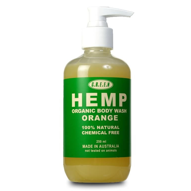 Hemp Body Wash with Pump - 250ml