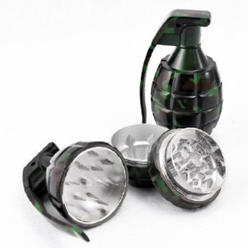DISCONTINUED Hand Grenade 3pc Herb Grinder
