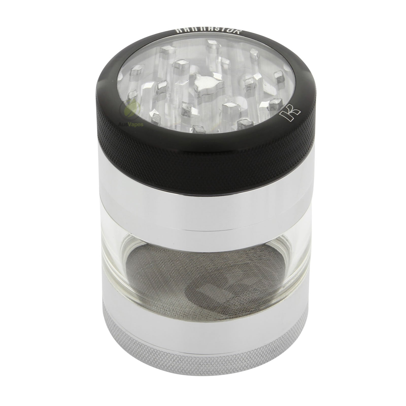 Kannastor Aluminium Clear Top Grinder 56mm - 4pc.