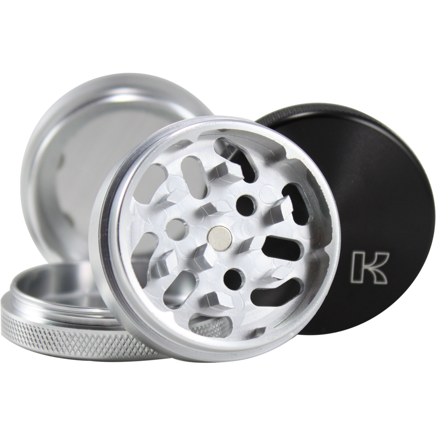 Kannastor 56mm 4pc Grinder/Sifter/Storage