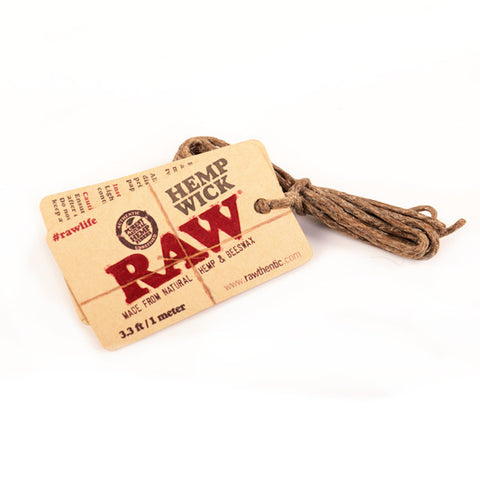RAW Hemp Wick - 1m