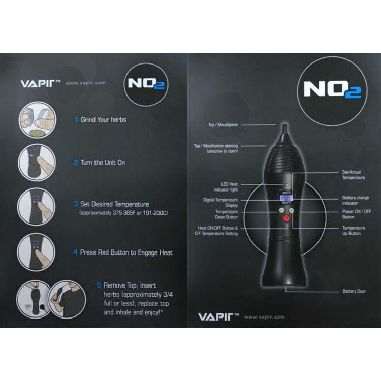 Vapir V2 Vaporizer instruction guide