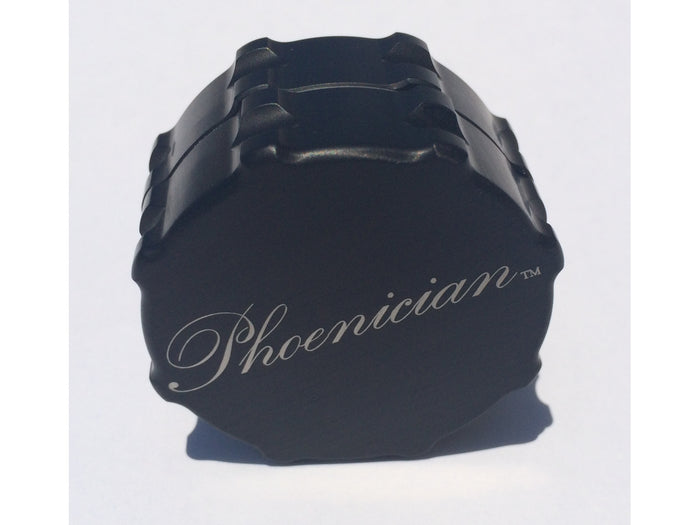 Phoenician Herb Grinder 2pc. - Small-Black