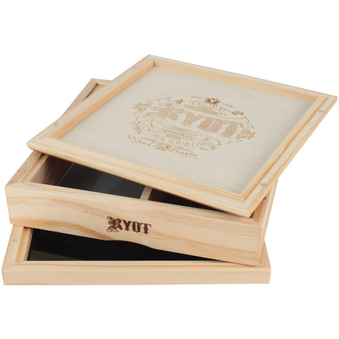 RYOT 178mm x 178mm Sifter Box in Natural
