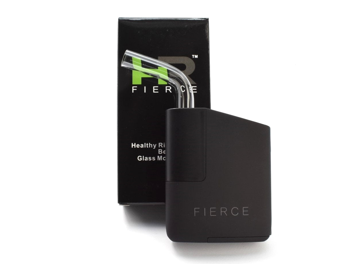 Fierce Vaporizer Bent Glass Mouthpiece