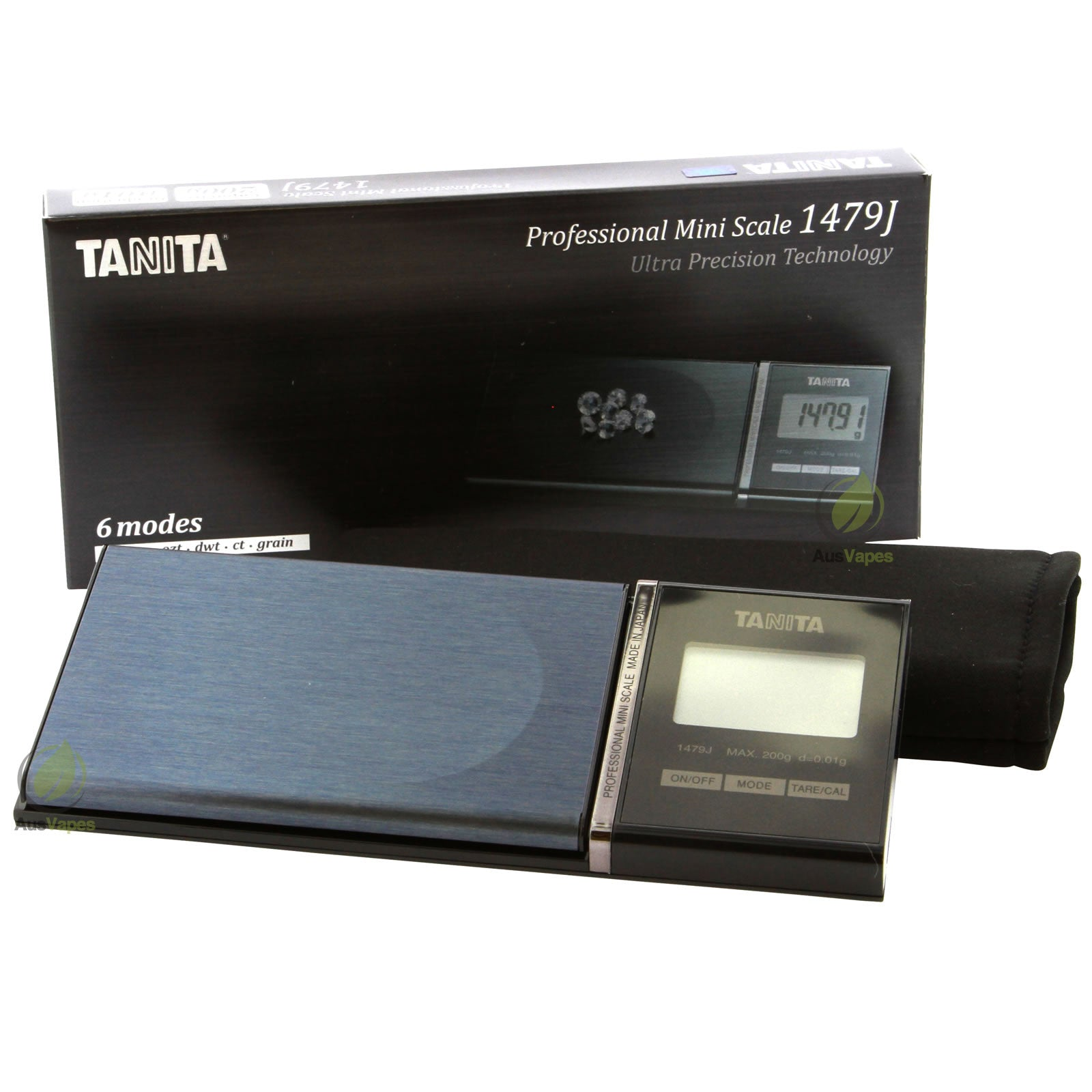 DISCONTINUED Tanita Professional 1479J Digital Scale 200g x 0.01g