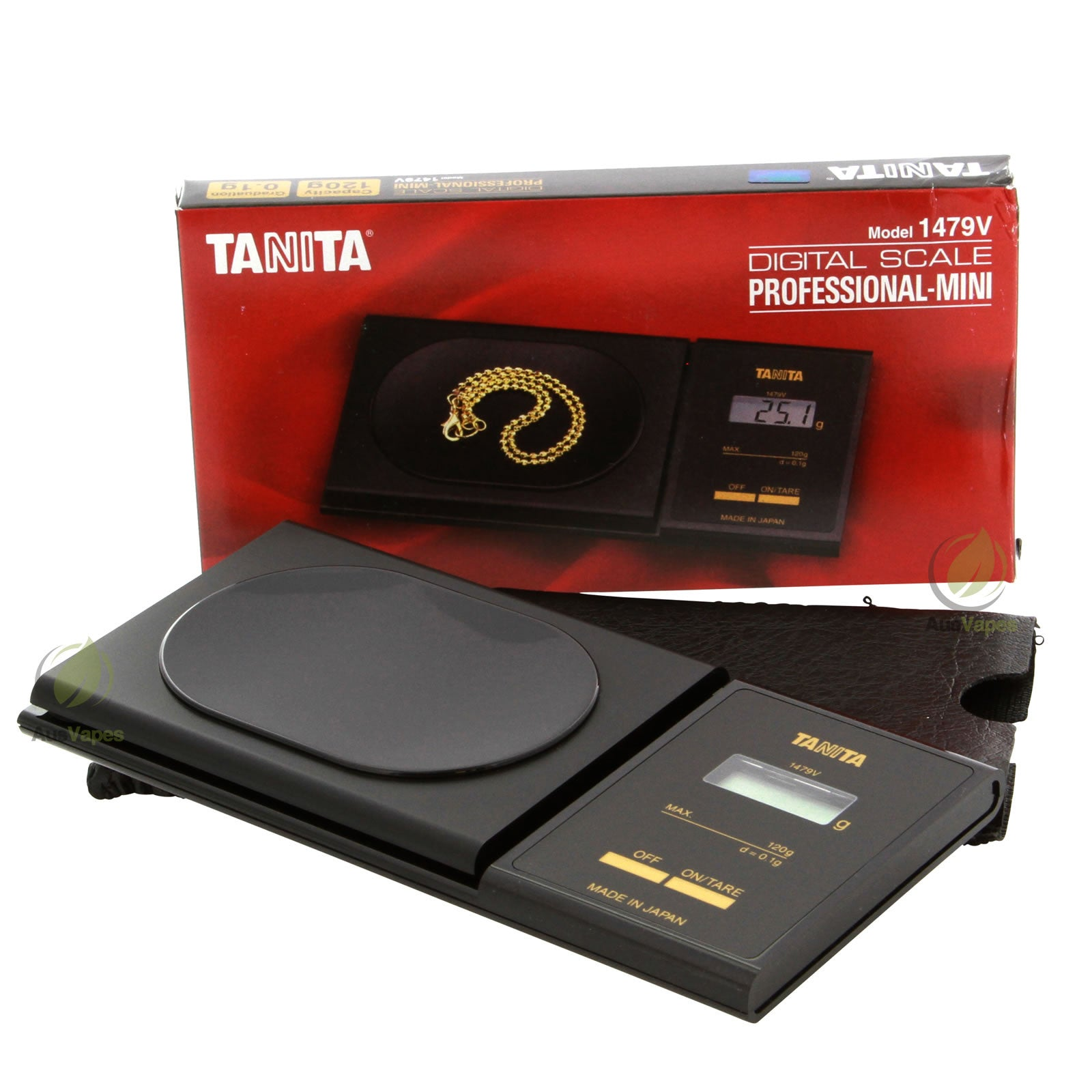 DISCONTINUED Tanita 1479V Professional Mini Digital Scale 120g x 0.1g