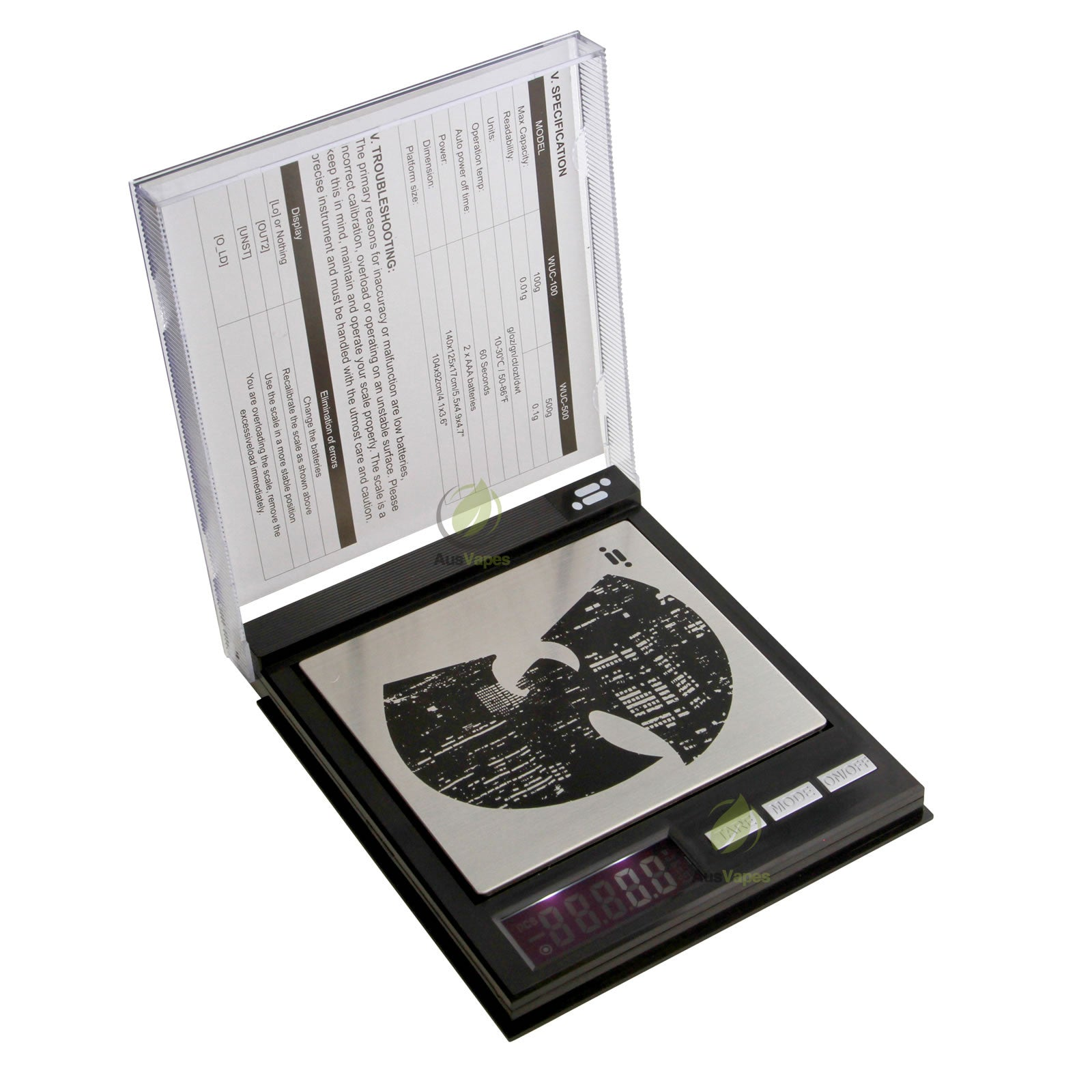 DISCONTINUED Infyniti Wu-Tang Clan CD Digital Scale 100g x 0.01g