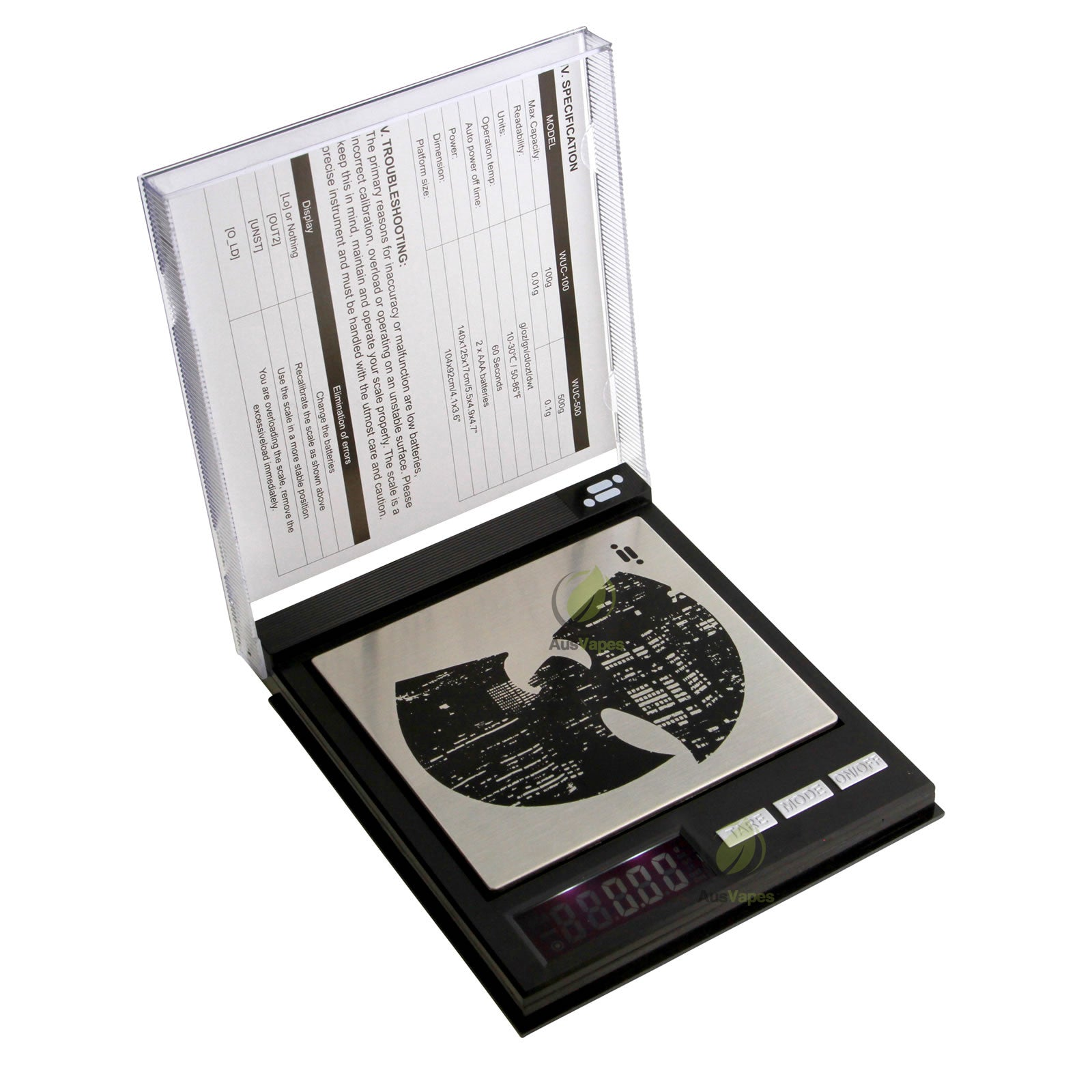 DISCONTINUED Infyniti Wu-Tang Clan CD Digital Scale 500g x 0.1g